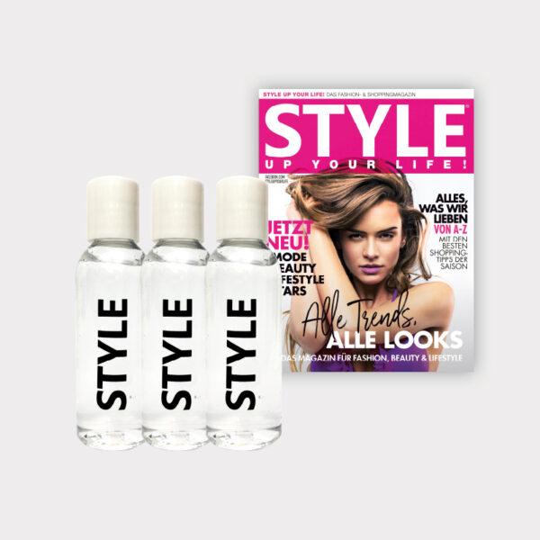 """""""STYLE"""" Hygiene-Gel im 3er Set"""