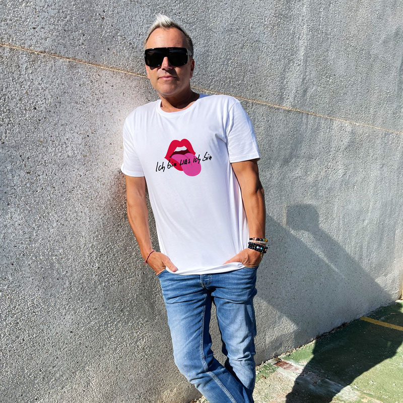 Uwe Kröger T-Shirt Ich bin was ich bin